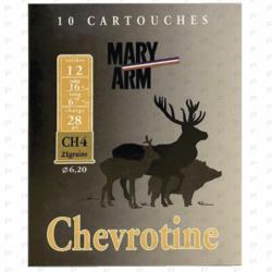 Cartouches chevrotines MARY ARM CAL...