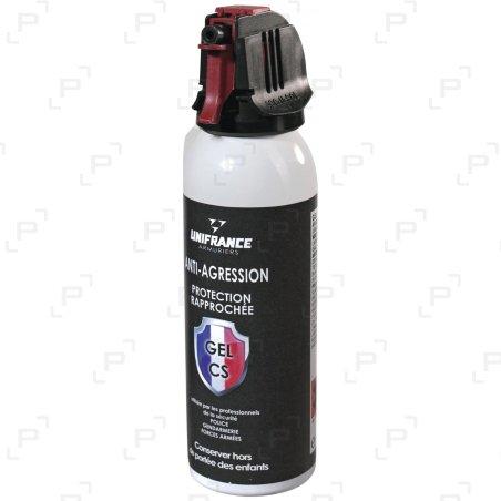 Bombe lacrymogène à gel CS anti-agression