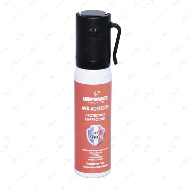 Bombe lacrymogène à gel au poivre RED PEPPER