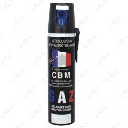Bombe lacrymogène à gaz CBM CS 25 ml