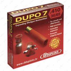 Cartouches de chasse à balle DDUPLEKS...