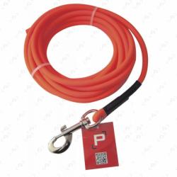Longes tubulaire PISTEURS en PVC orange