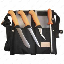 Set de couteaux de boucher EKA orange...