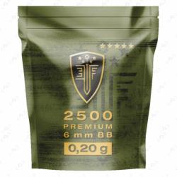 Billes plastique airsoft calibre 6 mm...