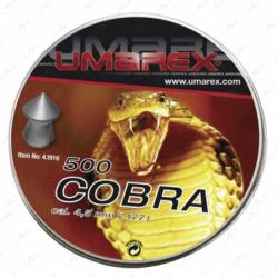 Boite de plombs à jupe 4,50 mm UMAREX...