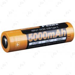 Accu rechargeable USB FENIX 21700 3,6V