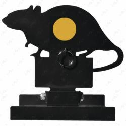 Cible PISTEURS basculante forme rat