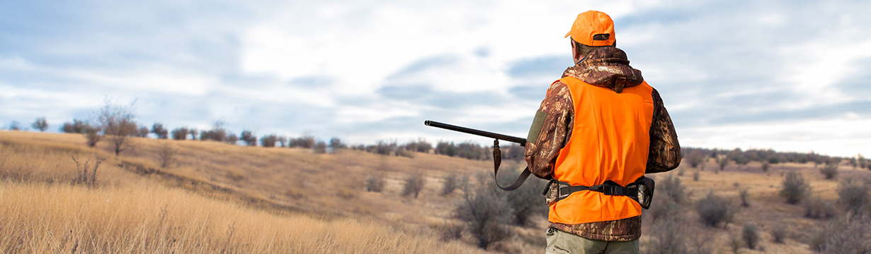 Vêtements, chaussants et équipement pour la chasse et l'après chasse