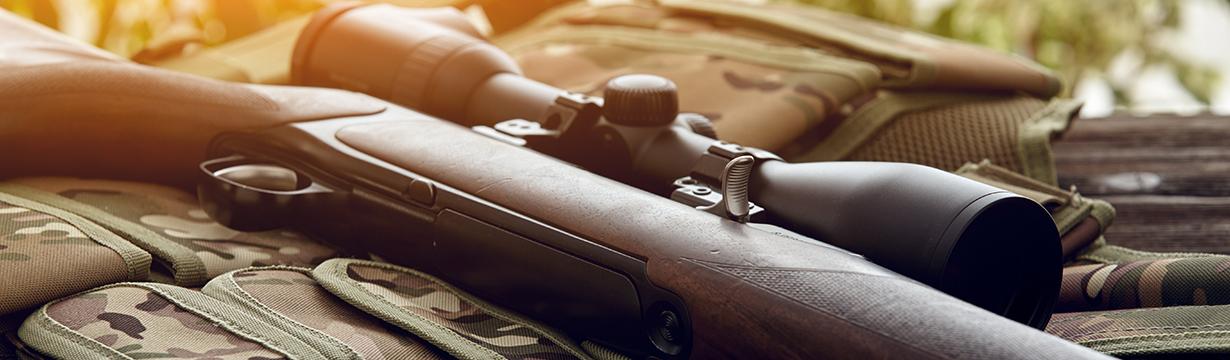 Les carabines de chasse semi-automatiques, carabines à pompe,...
